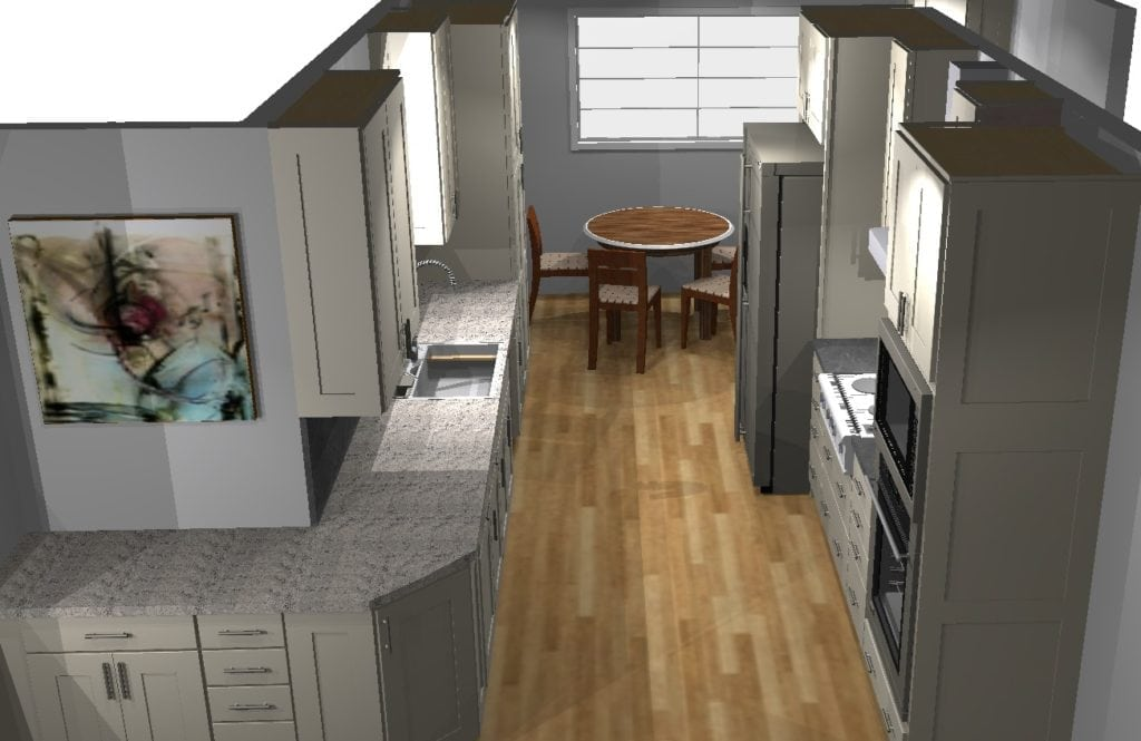 6 Common Kitchen Layouts Division 9 Inc